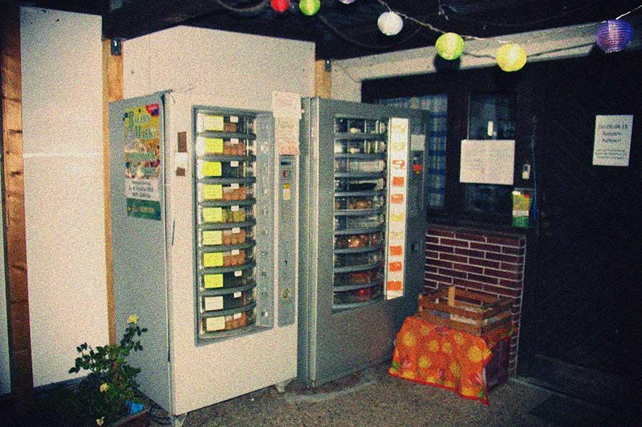 Lebensmittelautomaten, Hofladen Günter Wolk, Viernheim