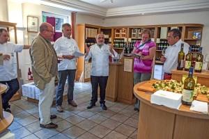 Präsentation des Odenwald Gasthaus Weins