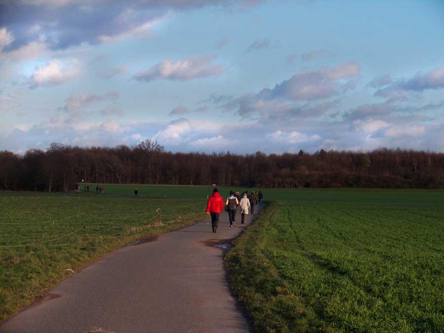 Osterspaziergang auf dem Oberfeld
