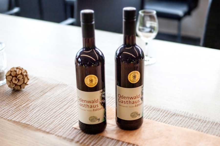 Präsentation des Spätburgunders der Odenwald Gasthäuser im Viniversum