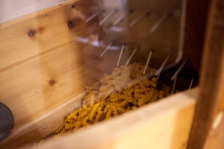 Abfüllanlage für Nudeln von Odenwald Genuss Heist