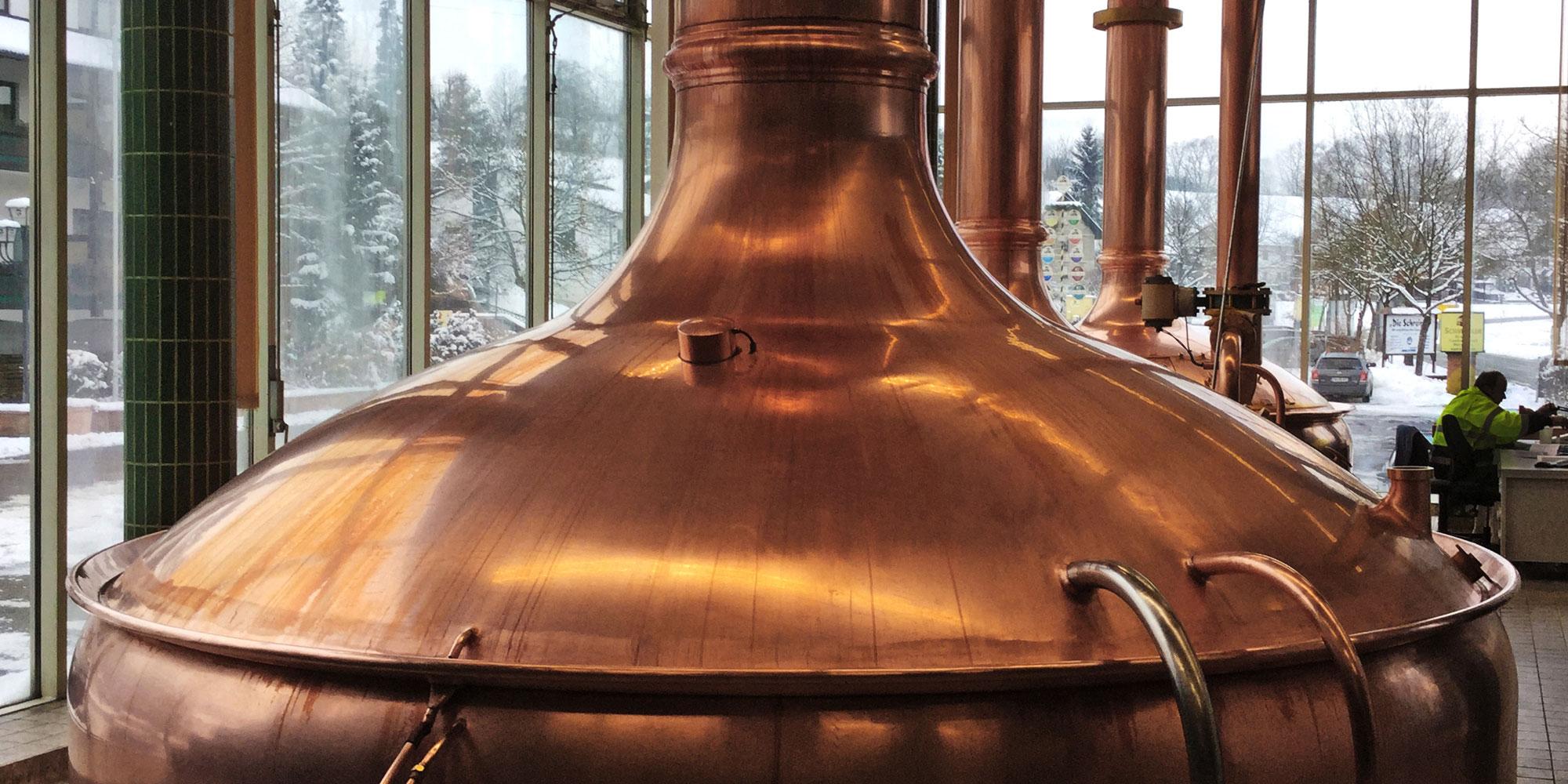 Privat-Brauerei Schmucker in Ober-Mossau