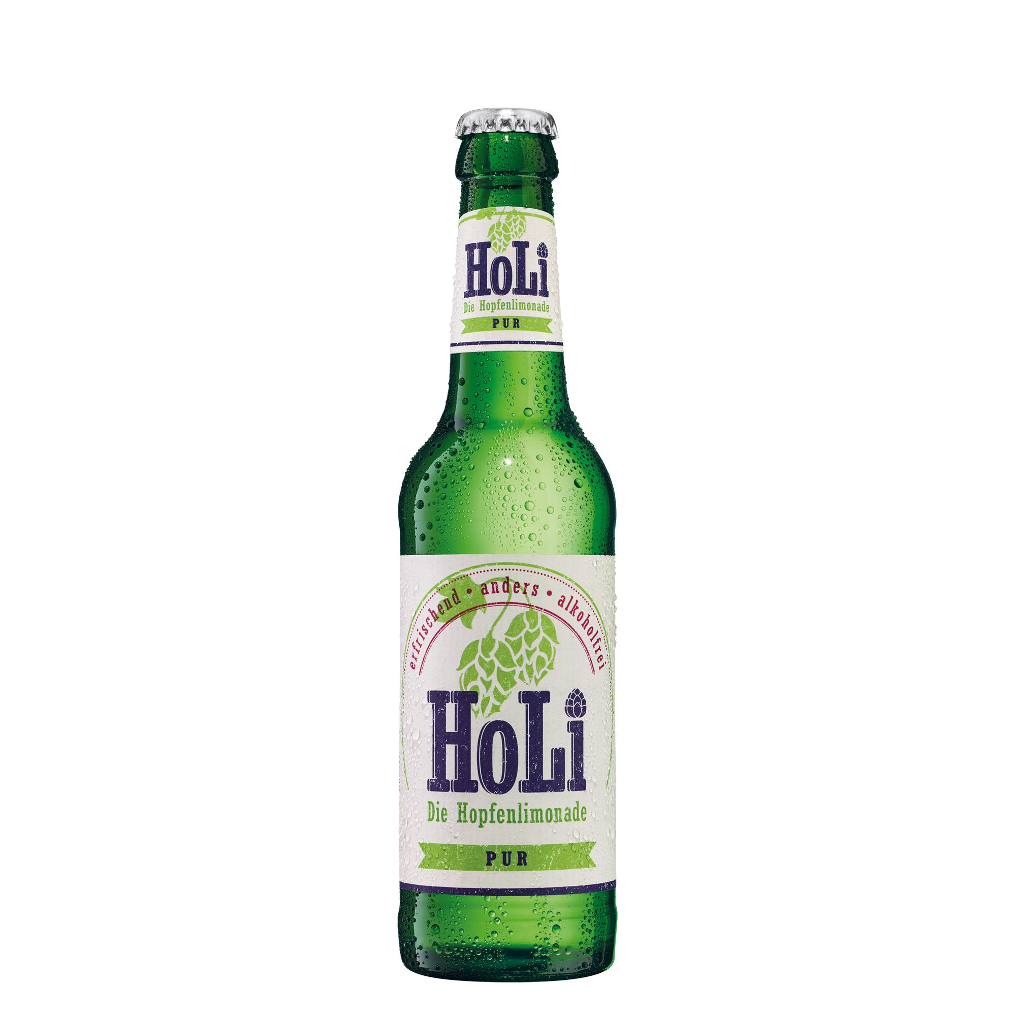 Hopfenlimonade von der Privat-Brauerei Schmucker in Mossautal