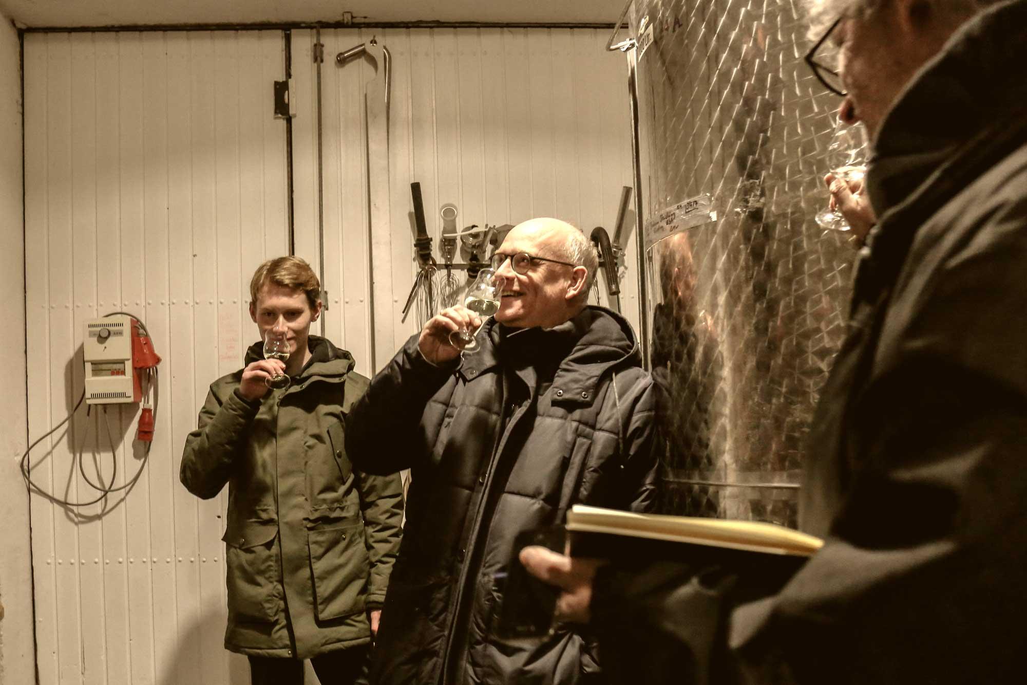 Weingut Rothweiler Jung-Weinprobe