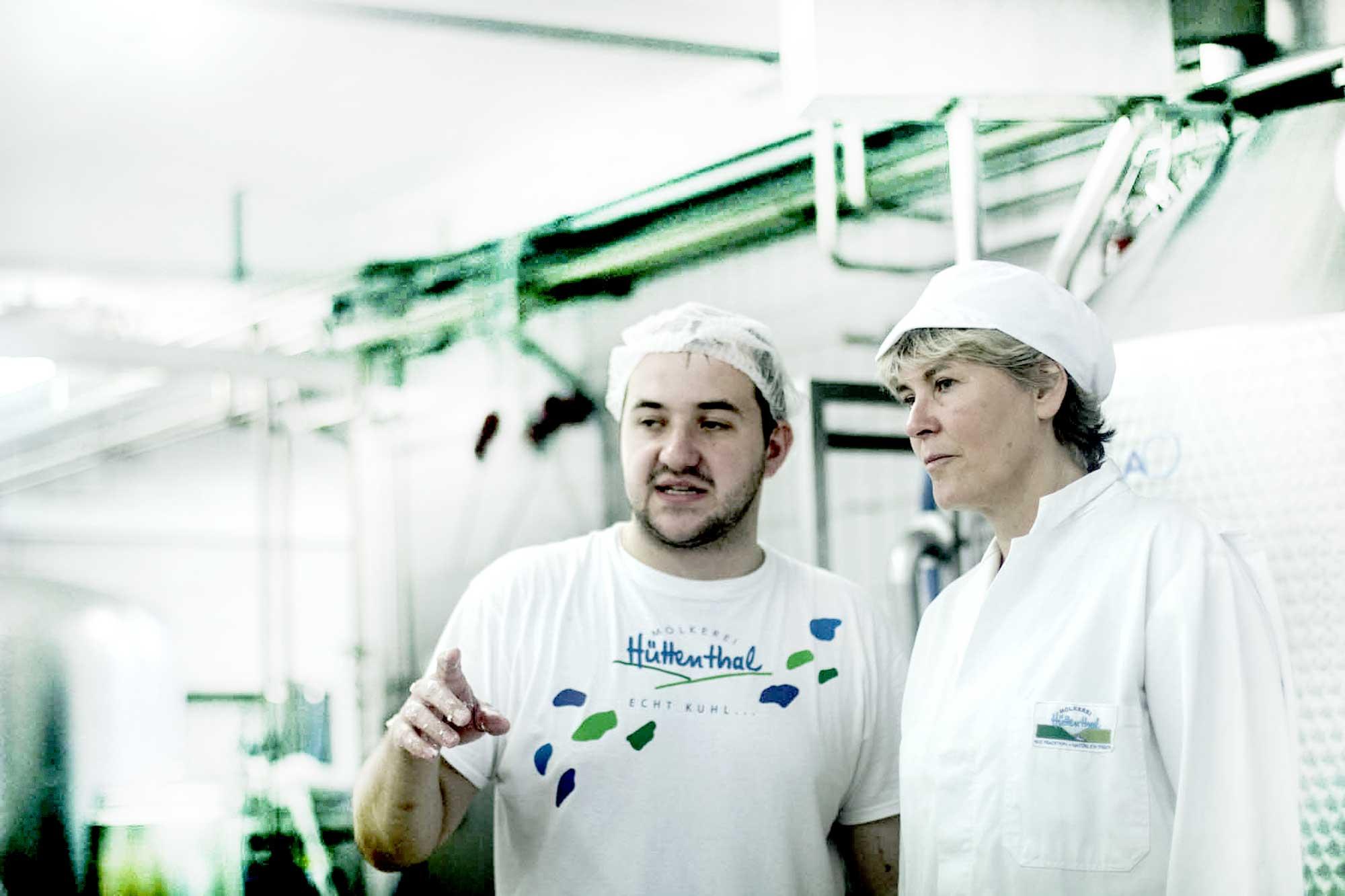 Eine Dose Odenwälder Kochkäse' – die Molkerei Hüttenthal ist Teil der regionalen Wertschöpfungskette bei Herstellung und Vertrieb