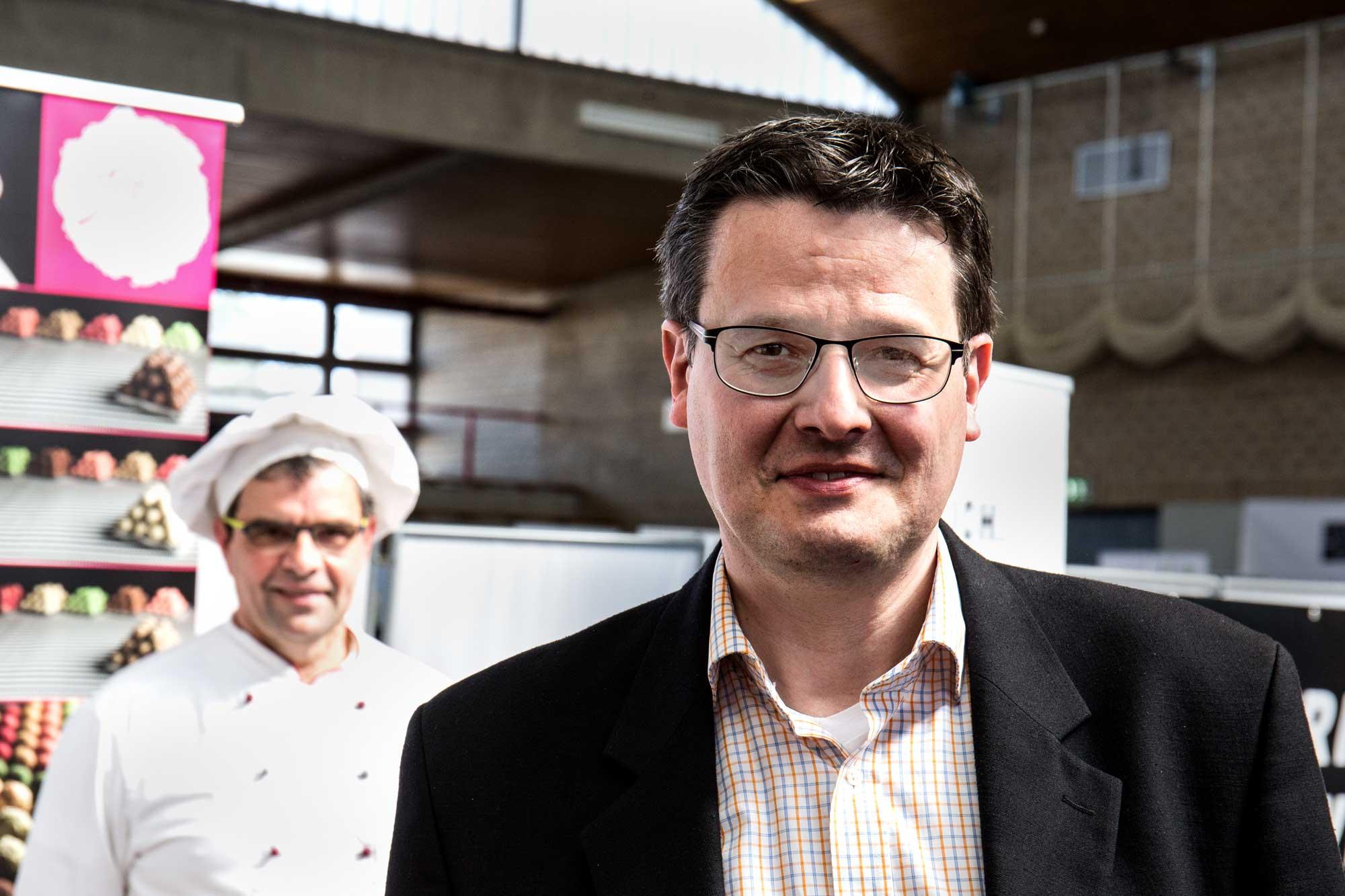 Fein & Lecker in Darmstadt, Veranstalter Lutz Kehden