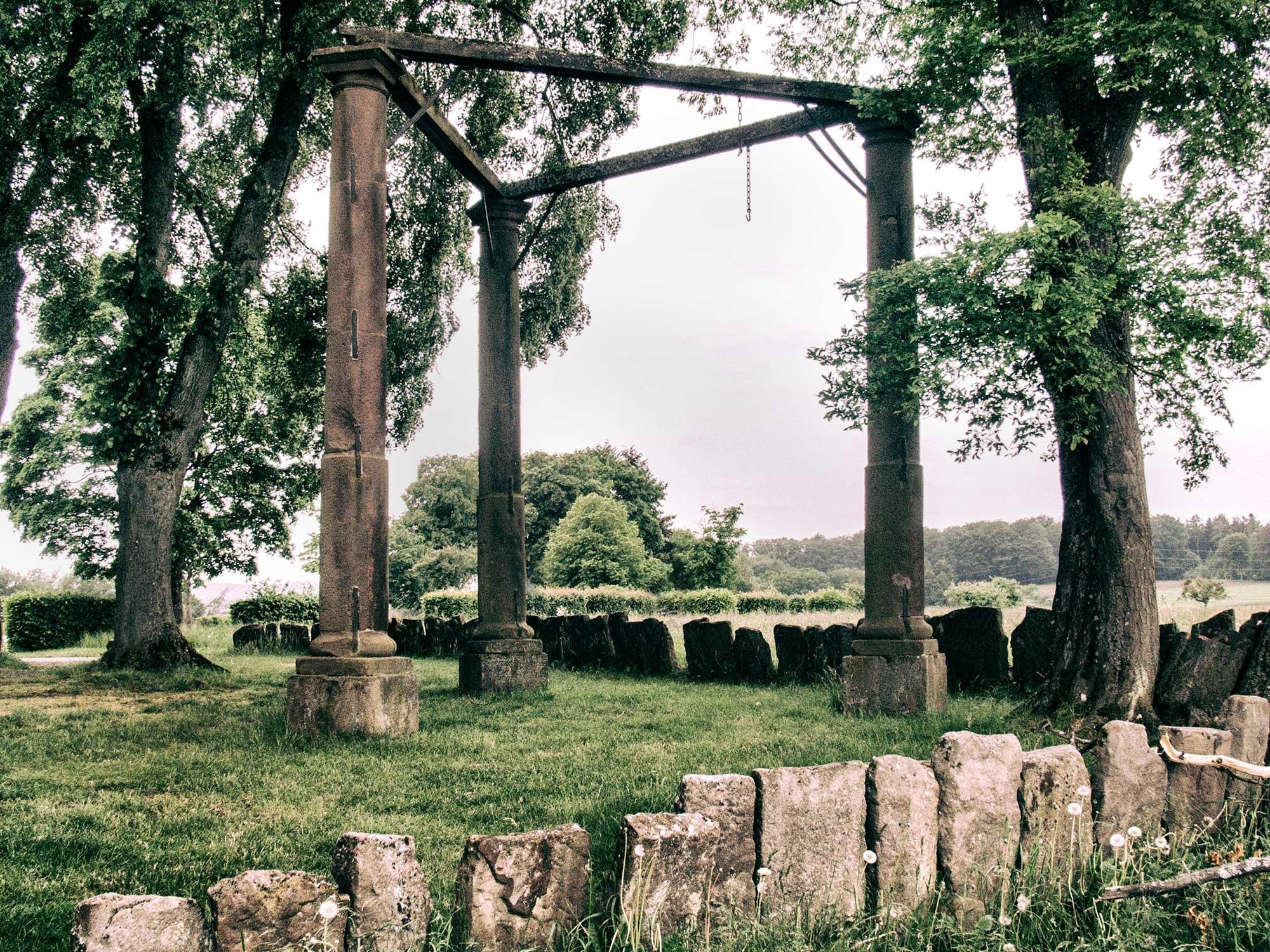 Der dreischläfrige Galgen bei Beerfelden
