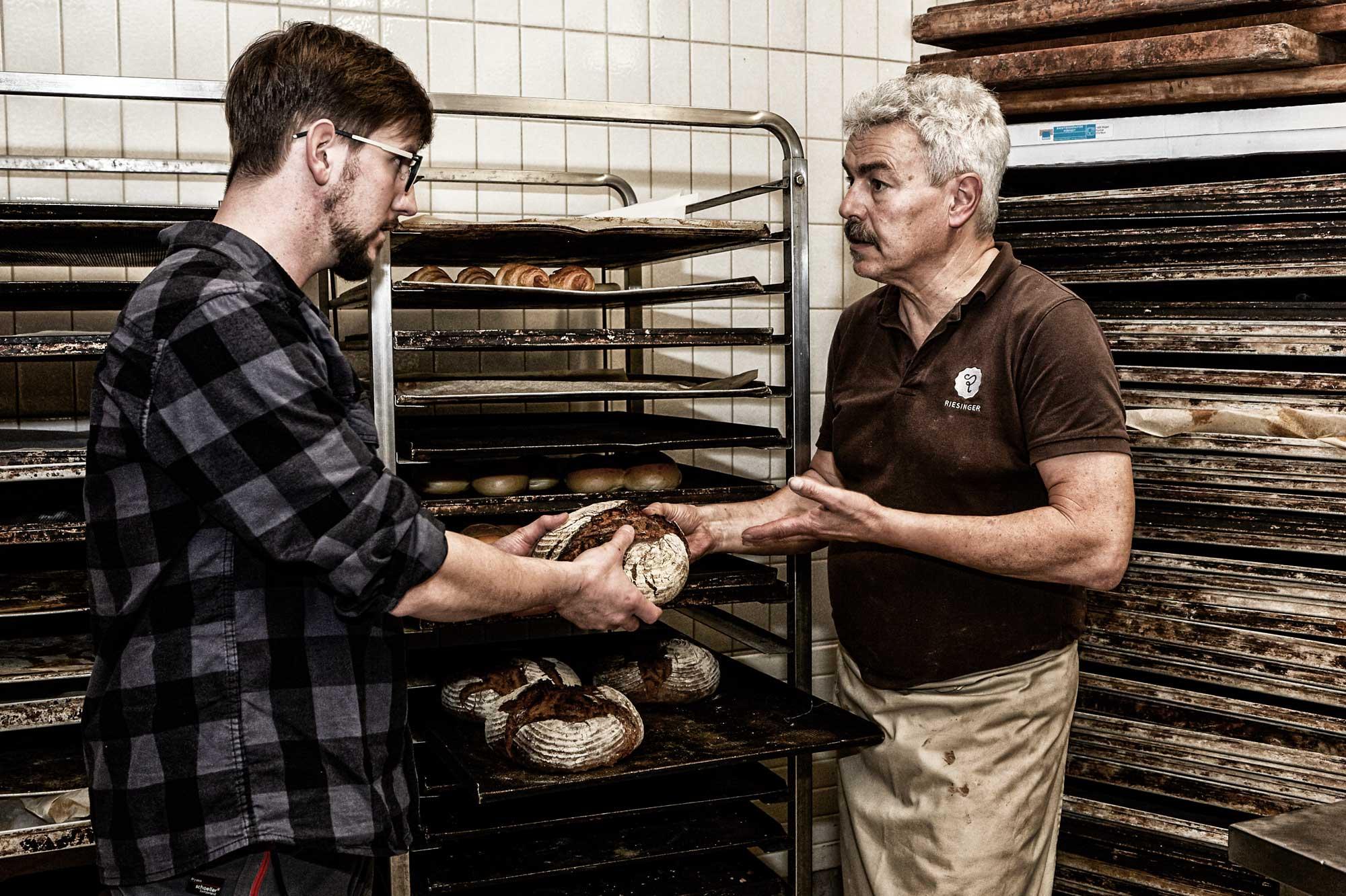 Streifzug durch den Odenwald, Bäckerei und Konditorei Riesinger in Beerfelden