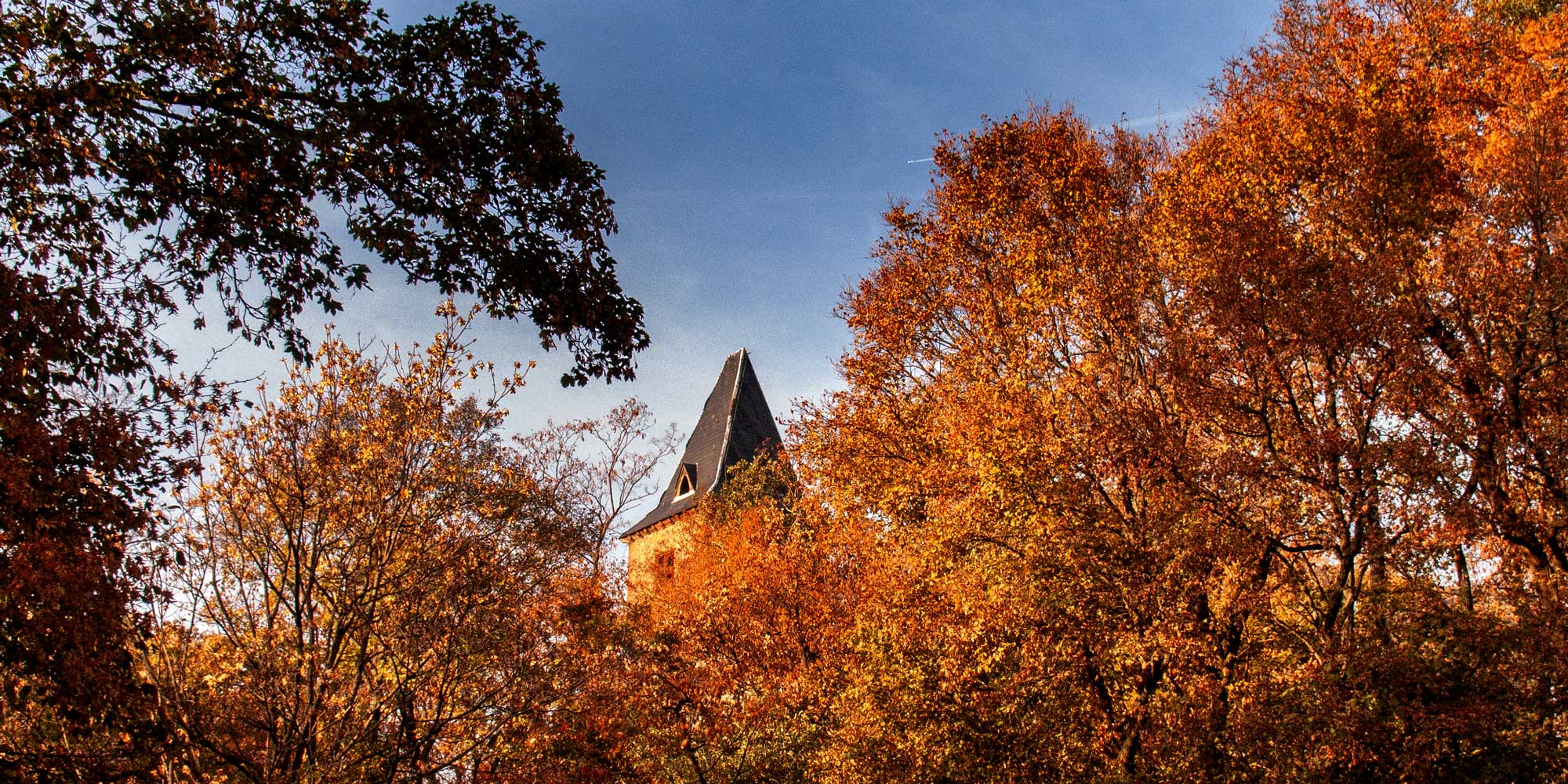 Burg Frankenstein im Odenwald bei Darmstadt