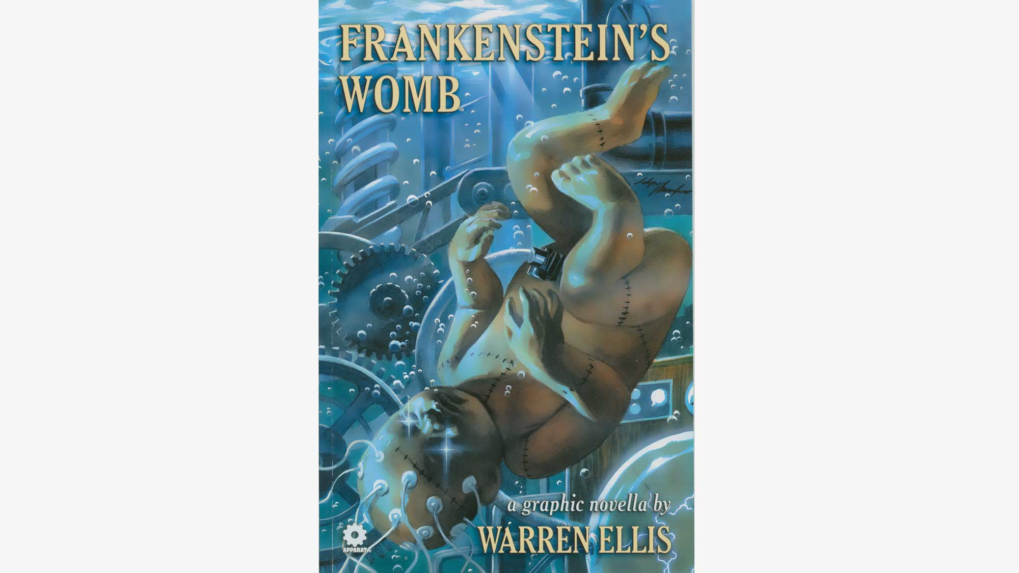 Graphic Novel Frankenstein's Womb