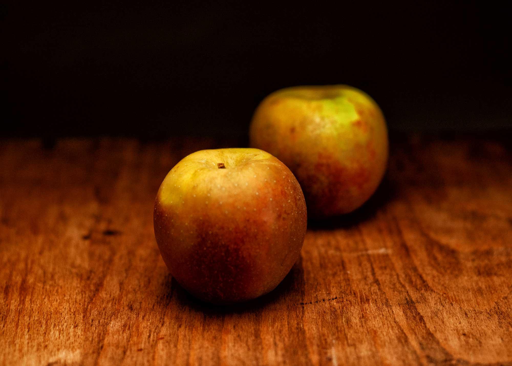Die Äpfel für unsere Version von Himmel und Erde
