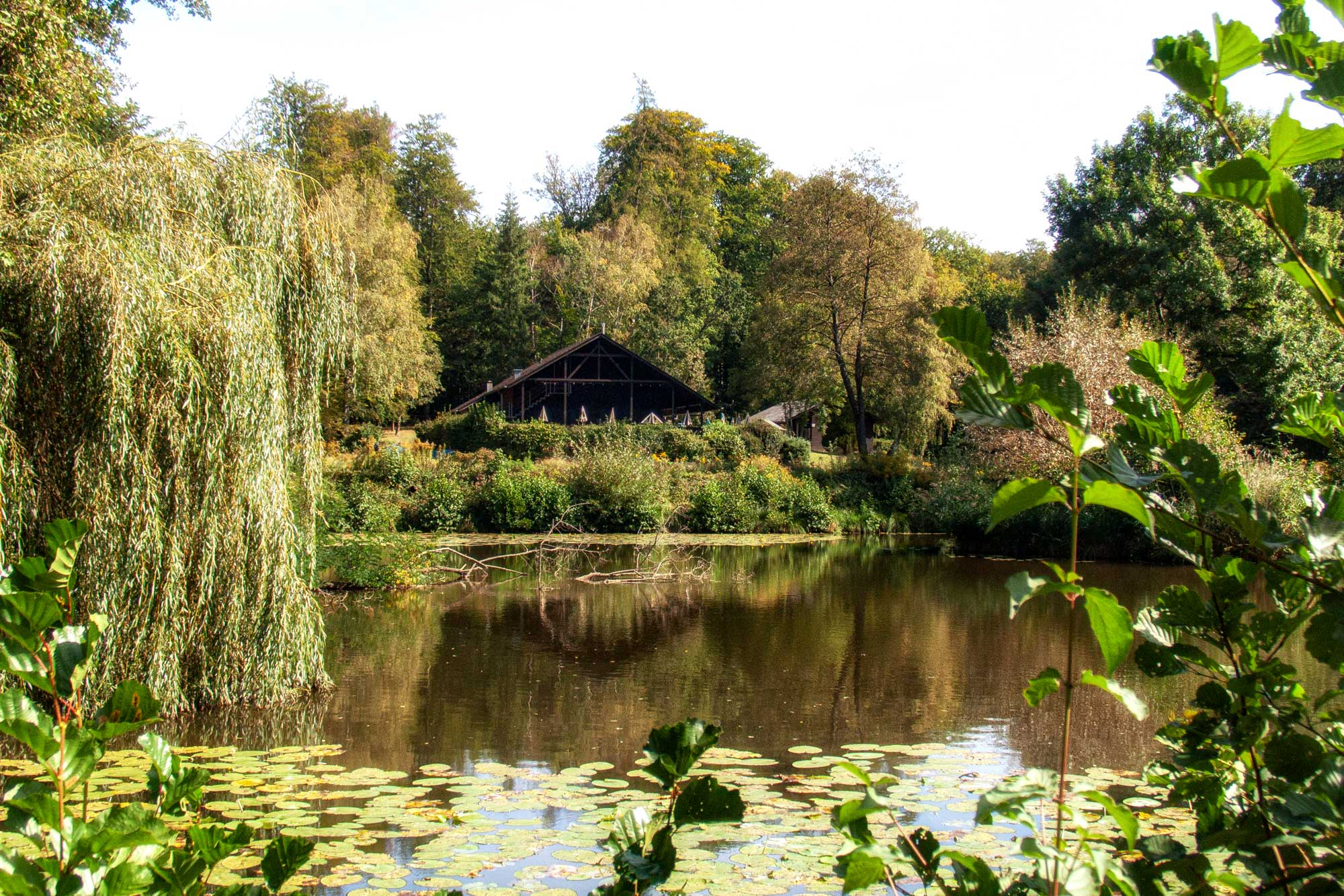 Darmstadt: Sieben-Hügel-Steig, Fischerhütte