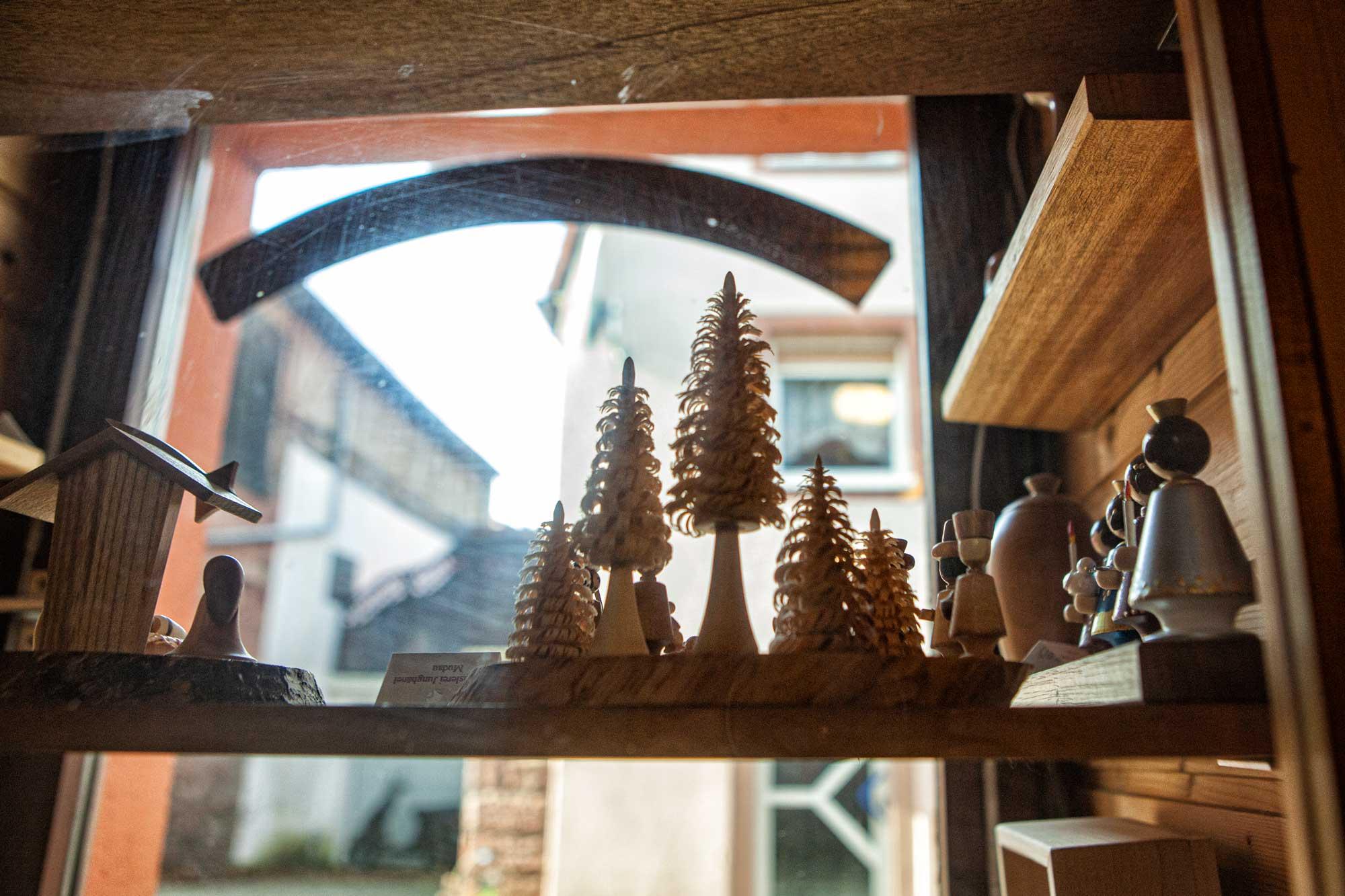 Nussknacker aus der Drechslerei Junghänel in Mudau im östlichen Odenwald