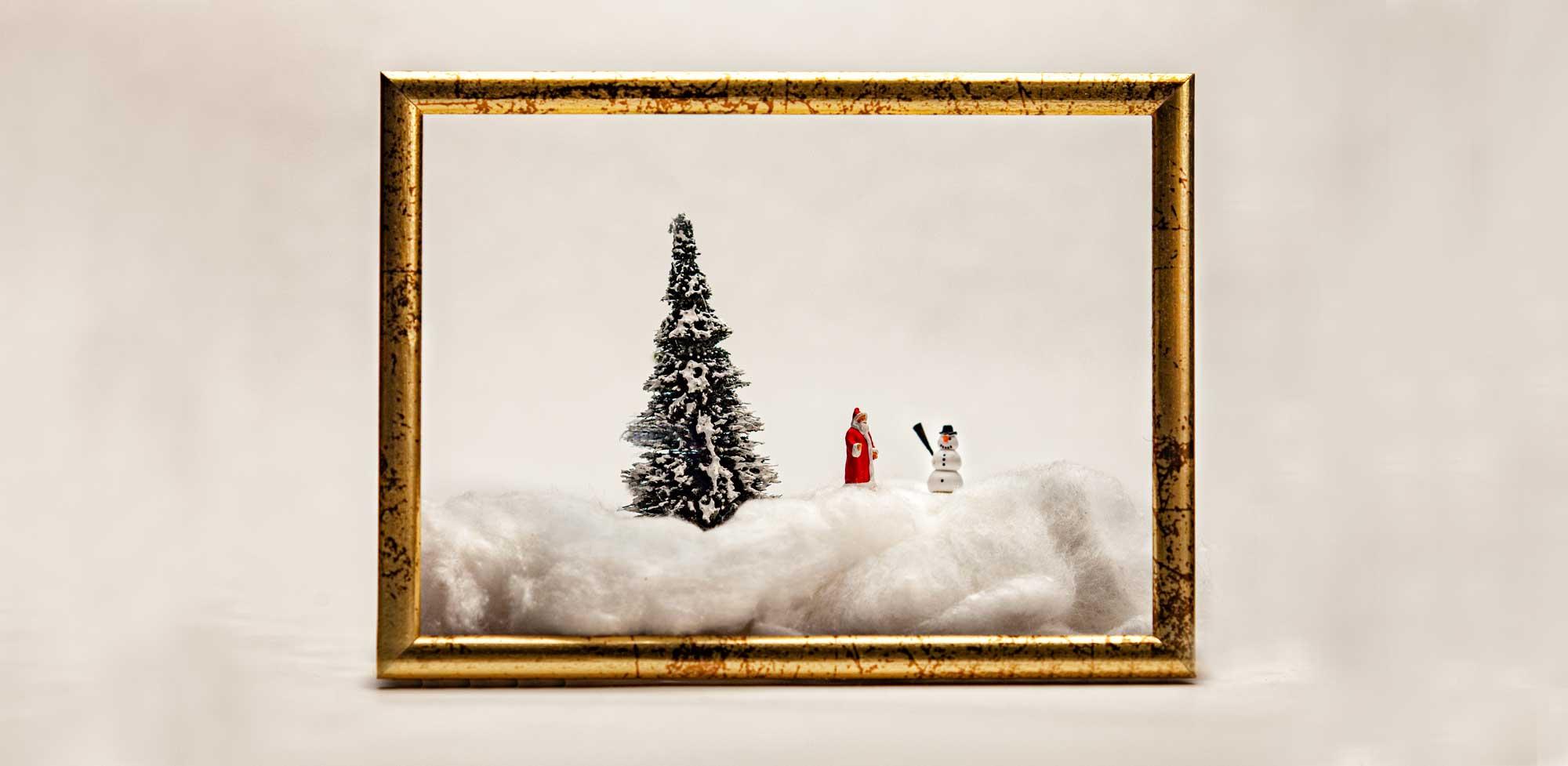 Bilderbuchweihnachten