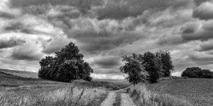Sommergewitter im Odenwald zwischen Reichelsheim und Fürth