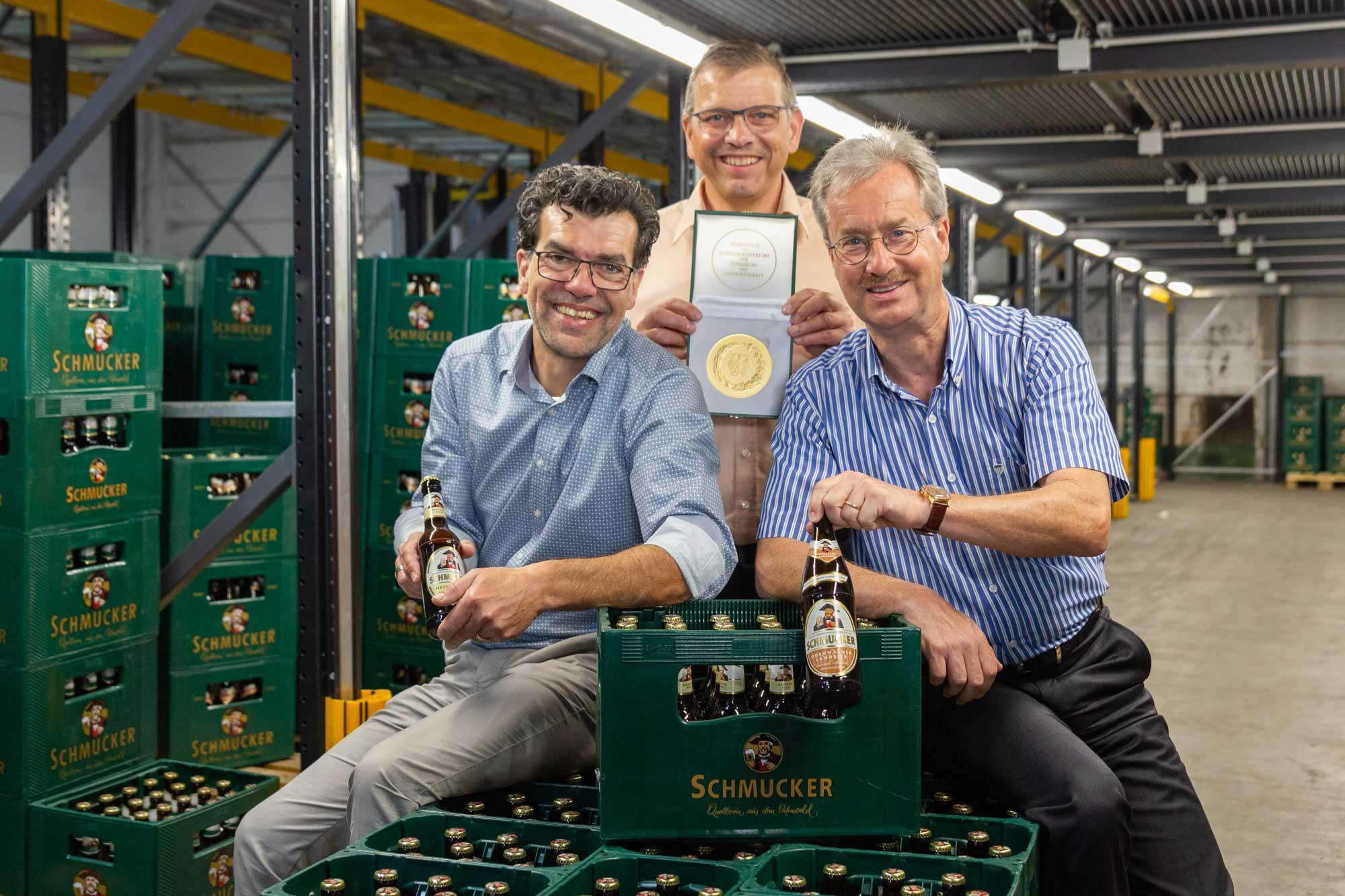 Privat-Brauerei Schmucker Bundesehrenpreis