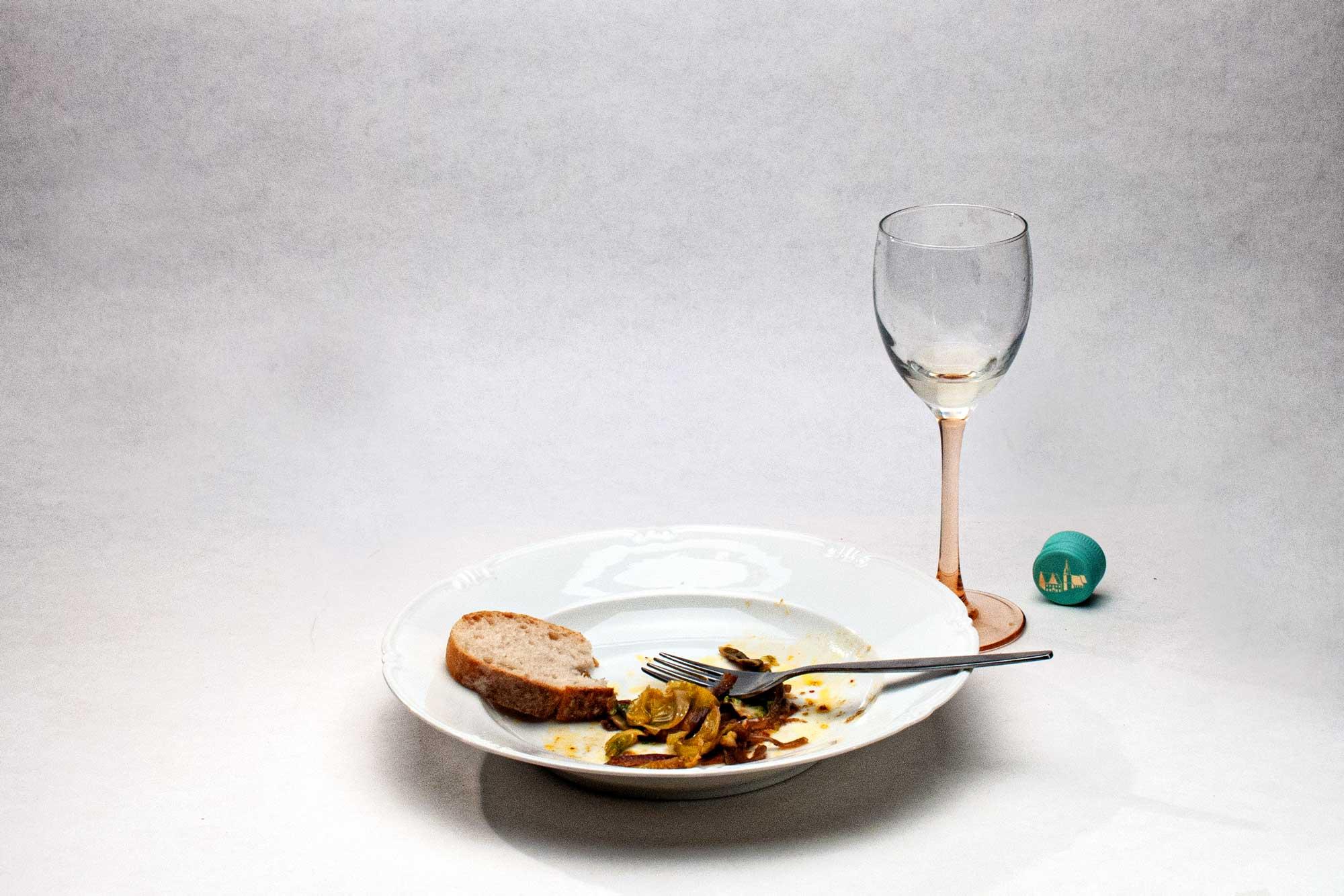 Marinierter Rosenkohl aus dem Ofen